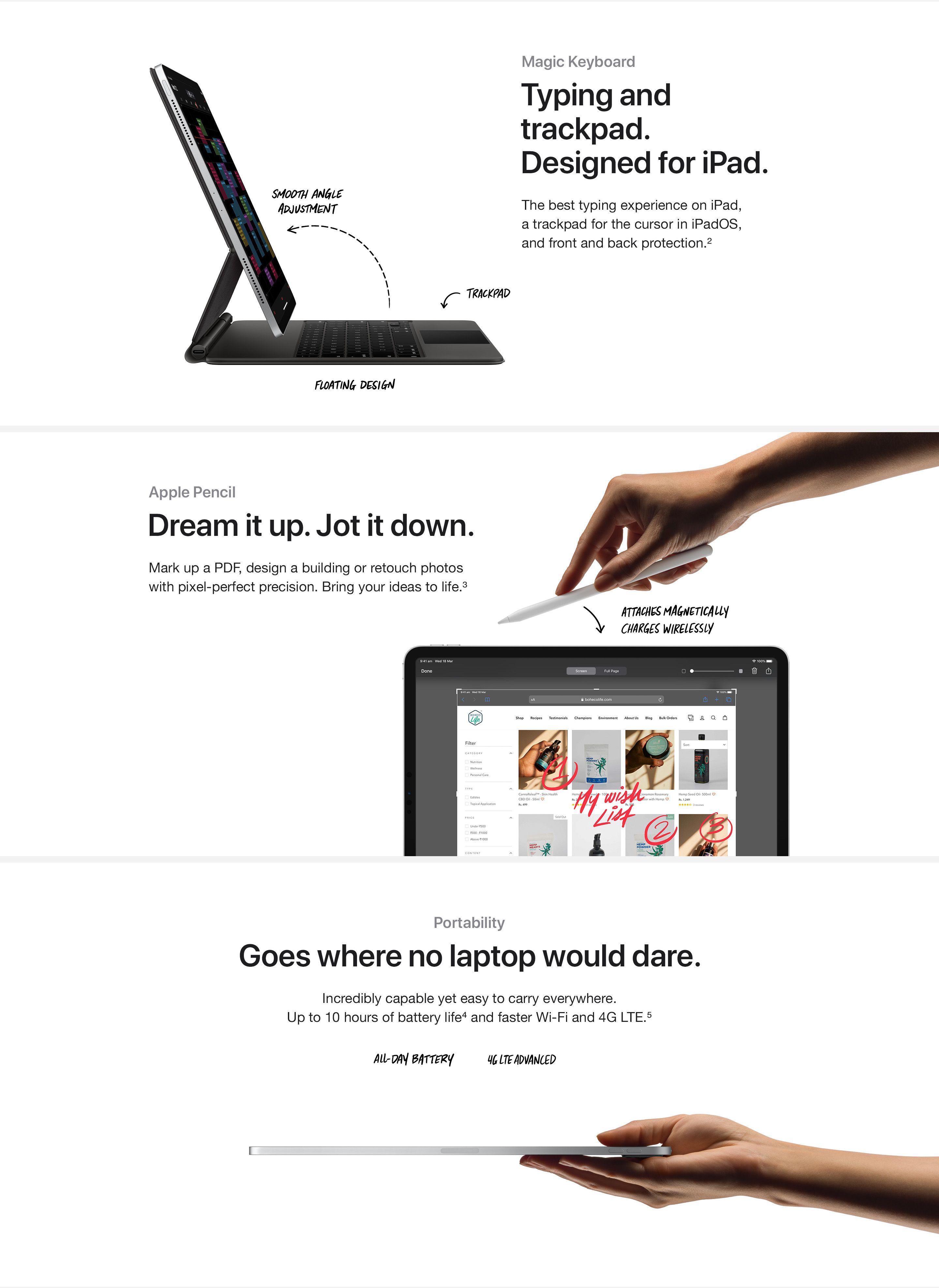 Buy Apple iPad Pro (4th Gen) online in india